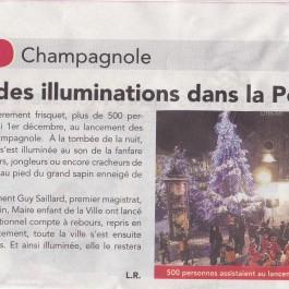 Champagnole Noël